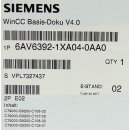 Siemens Simatic 6AV6392-1XA04-0AA0 WinCC Basis-Dokumentation