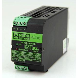 MURR Elektronik Trafonetzgerät NLS 05-230-400/24 85631 Power Supply