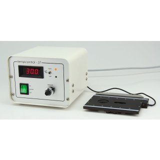 Zeiss Tempcontrol 37 Temperaturregelgerät mit heizbarem Halterahmen