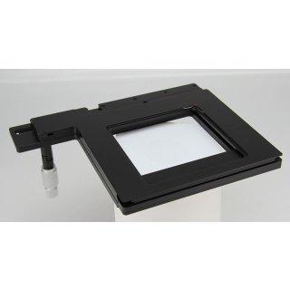 Leica XY Kreuztisch für inverses Mikroskop Verfahrweg 40 x 62mm