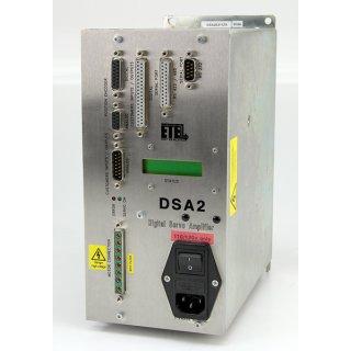 ETEL DSA2 Digital Servo Amplifier Verstärker DSA2S211ZA 018A
