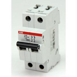 ABB S202-K0,5 dopelter Leitungsschutzschalter 6kA bei 230/400V AC