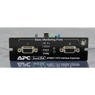 APC AP9607 Rev. L USV UPS Interface Expander Karte RS232