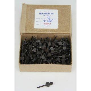 100 Stück Pan American M-42 Cobalt Gewindeschaft Bohrer NAS 965 D