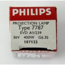 3 Stück Philips Projektionslampe 7787 Halogenlampe...