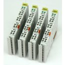 4 Stück WAGO 750-401 2DI 24V DC 0.2ms Digitale...
