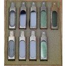 9 Stück Mikroskop Farbfilter Filterschieber