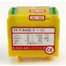 2 Stück Soclair RTM81-C Messumformer für Pt-100...