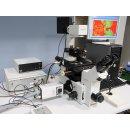 Olympus IX70 invers Mikroskop mit Till Photonics...