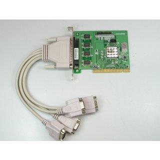VScom 410H SP PCI Multischnittstellenkarte 4Mal RS232