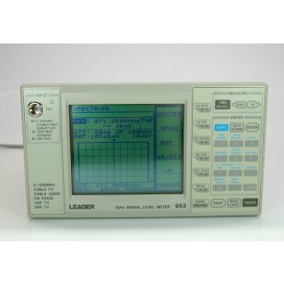 Leader 1GHz Signal Level Meter 953