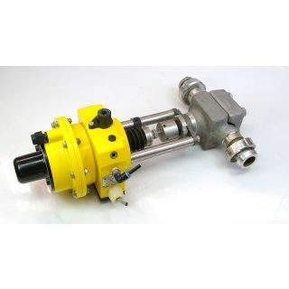Kämmer Regelventil mit pneumatischem Stellantrieb 25037-I/P