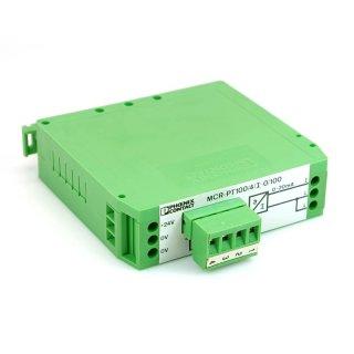 Phoenix Contact MCR-PT100/4/I-0/100 Messumformer