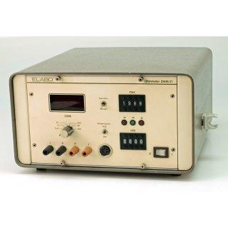 Elabo Ohmmeter DWM31 Typ M8-17266/PA