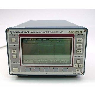 Rohde & Schwarz Digital Video Component Analyser VCA
