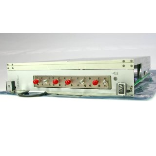 HP / Agilent 1370A Treibereinschub mit 6 Mikrowellenrelais