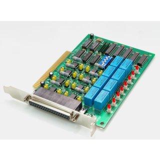 Advantech PCL-725 PC ISA Bus Karte 8 Relais Ausgänge optisch isoliert