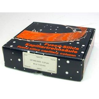 Macherey Nagel Kapillartrennsäule Optima Wax 0.25µm 50m*0,32mm N