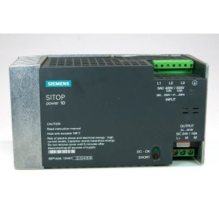 Siemens SITOP power 10 6EP1434-1SH01 Stromversorgung Power Supp