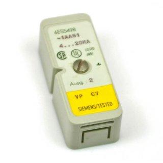 Siemens 6ES5498-1AA51 Measuring Range Module