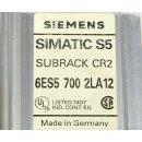 Siemens Simatic S5 Baugruppenträger 6ES5 700 2LA12