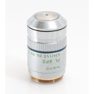 Leica Mikroskop Objektiv PL APO 63x/1.40 OIL PH3 506041 M25