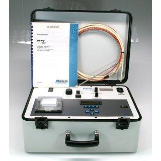 Ziegler Instruments Dewy Box portable Taupunkt- und Feuchtemesss