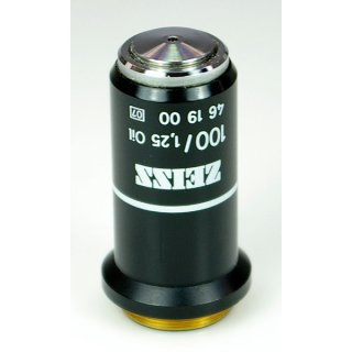 Zeiss 100x/1,25 Oil 160/- Objektiv 461900