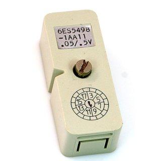 Siemens 6ES5498-1AA11 Simatic S5 Messbereichsmodul für Analogein