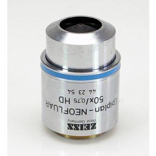 Zeiss Mikroskop Objektiv Epiplan Neofluar 50x/0,75 HD 442354