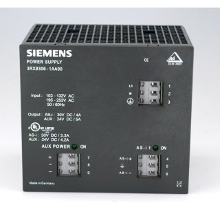 Siemens Power Supply 3RX9306-1AA00 #3187
