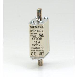 Siemens 3NE 1813-0 Sitor 16A 690V Sicherungseinsatz (9 Stk.)