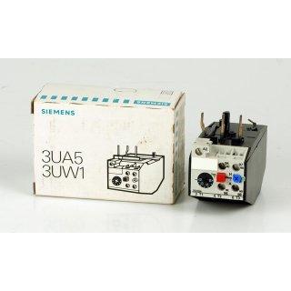 Siemens Überlastrelais 3UA5 3UW1 3UA54 00-2A 10 - 16 A