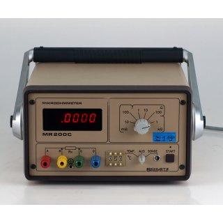 Schuetz MR 200 C Mikroohmmeter MR200C