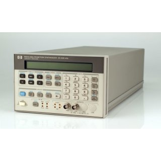 Hewlett Packard HP 8904A Multifunction Synthesizer DC-600kHz