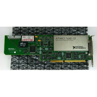 National Instruments AT-MIO-16XE-10 Multifunction IO Card
