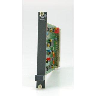 Klöckner Moeller EBE 231B CPU Modul Karte