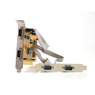 4-fach seriell Karte PCI