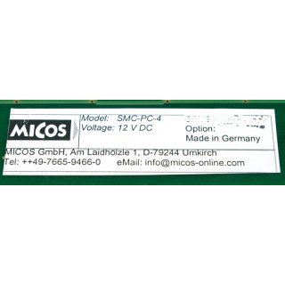 Micos SMC-PC-4 Karte Card Controller #4157