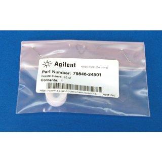 Agilent 79846-24501 Flansch 25 µl Waste sleeve #4208