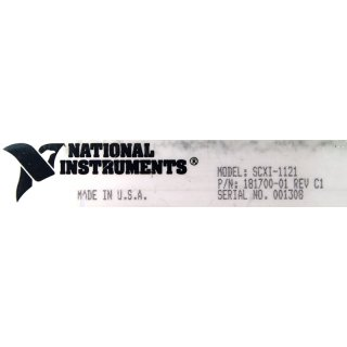 NI National Instruments SCXI-1121 Verstärker #4464