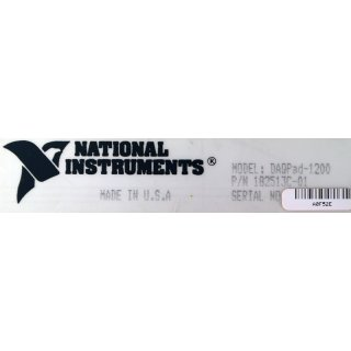 NI National Instruments DAQPad-1200 #4465
