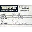 Ticon Codapter Schnittstellenconverter ISB 600 #4508