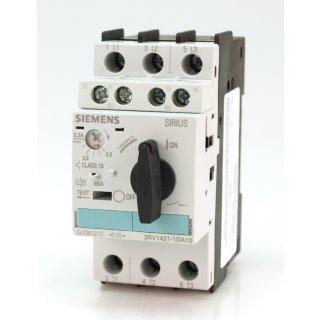 Siemens Sirius 3RV1421-1DA10  #4714 3ZX1012-0RV02-1AA1