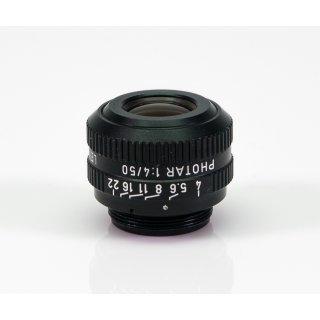 Leitz Wetzlar Objektiv Photar 1:4/50 549027 Mikrofotografie