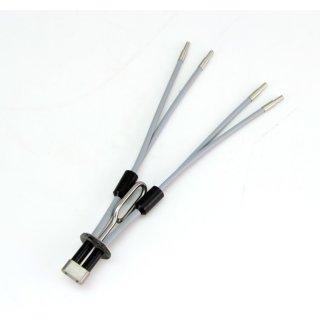 Spezial Lichtleiter flexibel 4-armig  ca. Ø 2mm  #4916