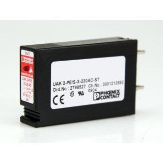 Phoenix Contakt UAK 2-PE/S-X-230AC-ST Nr. 2798527  Überspannungsschutz #4924