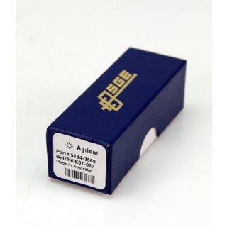 """Agilent Siltite Frrls & Nuts , 1/16"""" x 0.4mm ID Nr. 5184-3569  #D4947"""