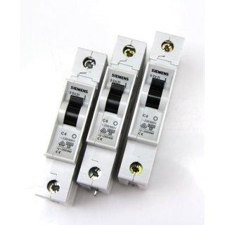 Siemens 5SX21 C4 Sicherungsautomat 3 Stück  #5103
