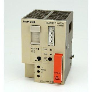 Siemens Simatic S5 6ES5100-8MA02 + Eprom 6ES5375-0LA15
